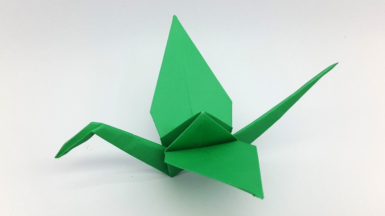 Make an Origami Flying Bird | Flapping bird, Origami flapping bird ... | 720x1280