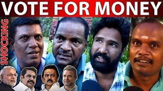 Shocking Report | Vote Only For Money | Public Opinion | Election 2019