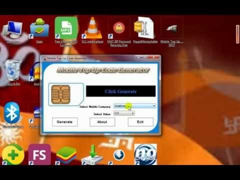 how to mobile top up generator vodaphone recharge cupen code generator
