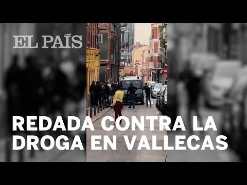 Nueve 'narcopisos' desalojados y 25 detenidos en Vallecas   Madrid