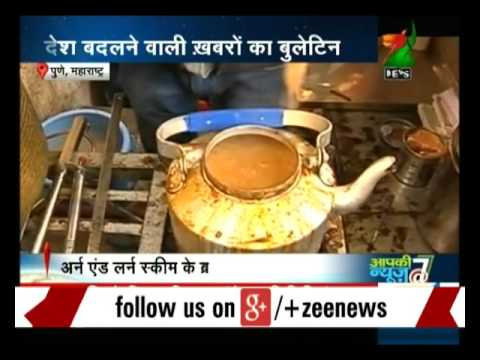 Pune: Boy sets up tea stall to earn money for his education