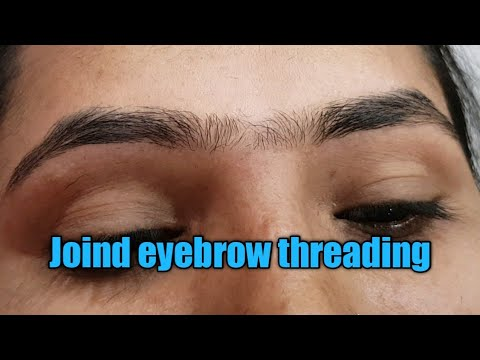 Joind eyebrow threading/perfect eyebrow threading/pink aroma