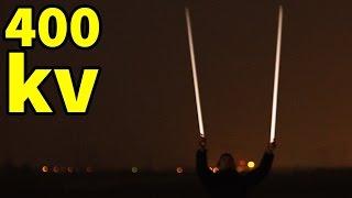 Świetlówki pod Liniami Wysokiego Napięcia