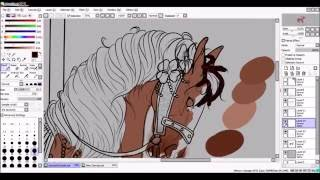 Stuck on this Carousel - speed paint (part 2)