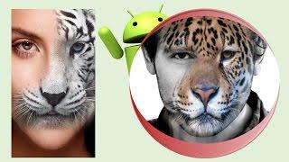 Como poner Rostros de animales, en tus Fotos!
