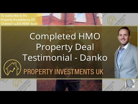 Testimonial - Completed HMO Property Deal - Danko