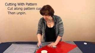 How to Measure & Cut Veil Fabric: Step 1 in How to Make a Veil Series Thumbnail