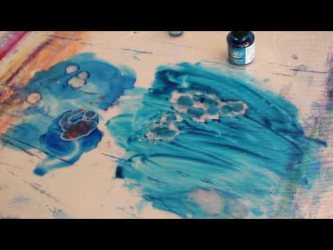 Differences Between Alcohol Ink and India Ink