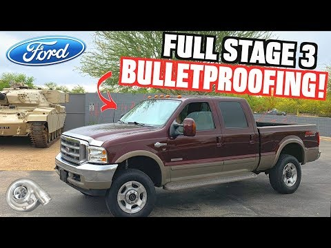 """Fully """"Bulletproofing"""" Our 6.0L Ford F350 Powerstroke (Stage 3 Install)"""