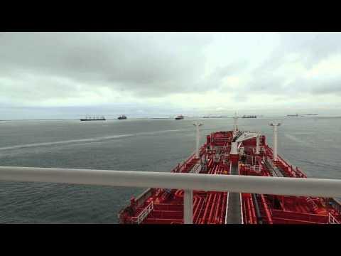 Panama Canal transit Balbao anchorage
