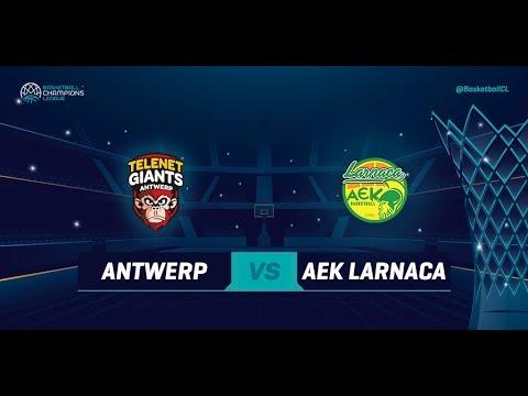 Telenet Giants Antwerp v AEK Larnaca - Full Game - Basketball Champions League 2018