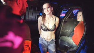 AFTER 3-WAY FIGHT GIRLFRIEND PROPOSES WHILE UNDER ARREST