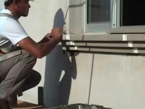 Gart instalacao molduras externas youtube - Molduras para ventanas exteriores ...