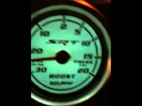 caliber srt4 boost guage in action youtube Hose Diameters caliber srt4 boost guage in action