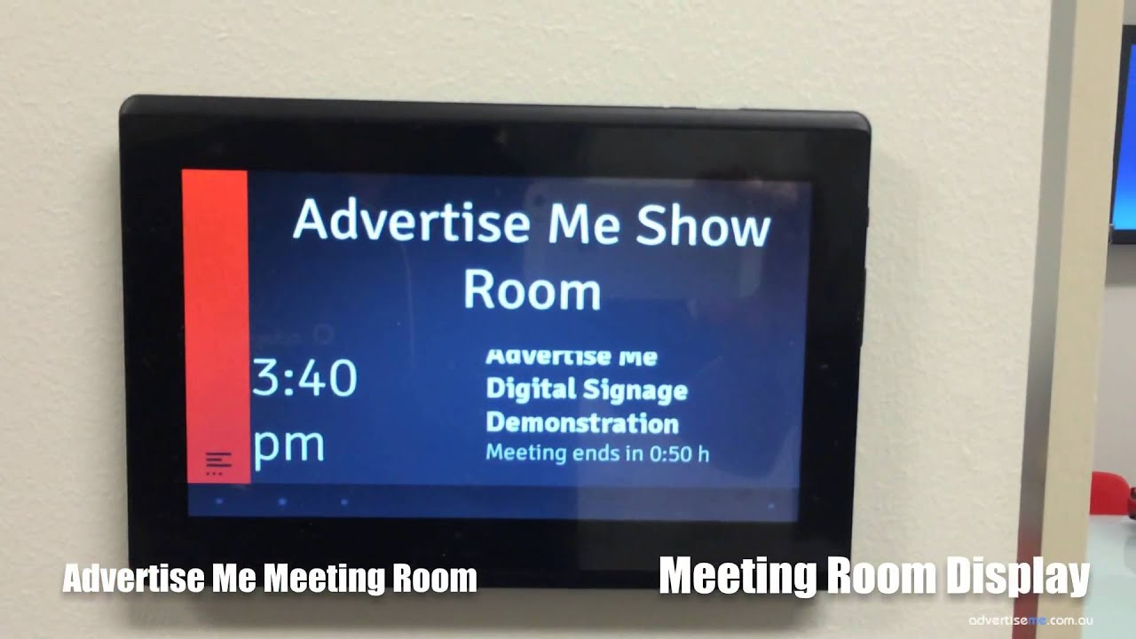 Conference Room Display Setting Apple Tv