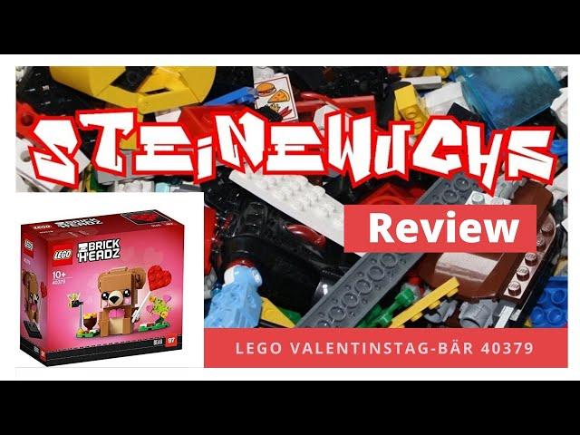 Review - Lego Valentinstag-Bär 60253