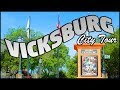 DOWNTOWN VICKSBURG MISSISSIPPI CITY TOUR - YouTube