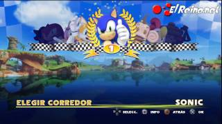 Vídeo análisis / review Sonic & SEGA All-Stars Racing - Multi