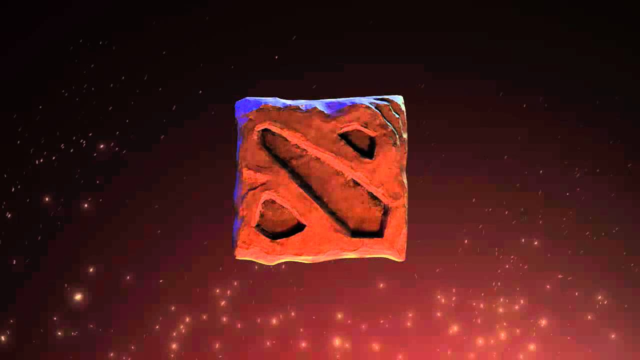 dota 2 fire logo youtube