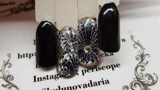 Дизайн ногтей для начинающих мастеров  Оптическая иллюзия