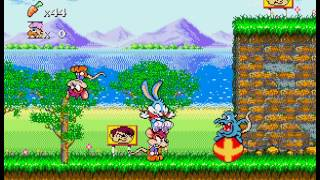 Tiny Toon Adventures - Busters Hidden Treasure - Music - User video