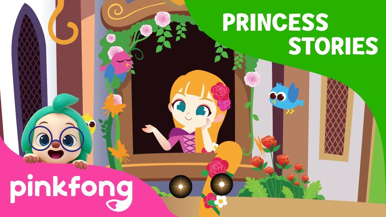 Rapunzel | Princess Stories | Princess World | Pinkfong Stories for Children