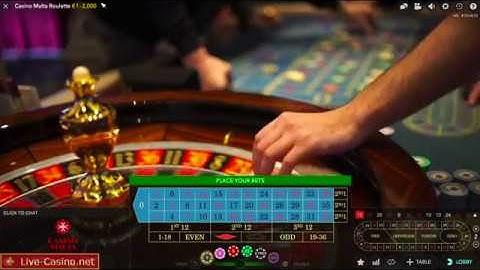 Roulette Casino Malta - Evolution Gaming 2019