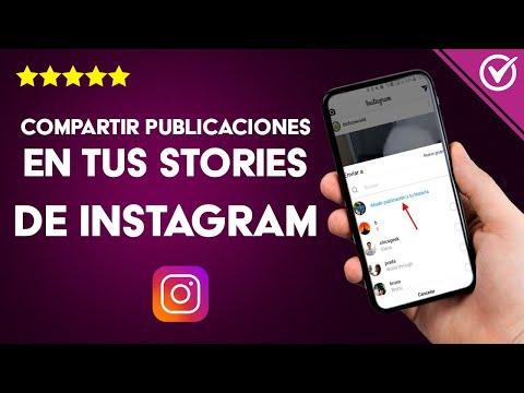 Cómo Compartir Publicaciones en Instagram Stories de otra Persona o Cuenta - Muy Fácil