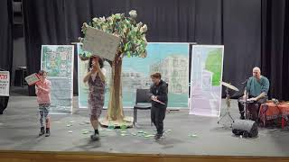"""פרוייקט אקומיוזיק--ההצגה """"קולו של עץ"""""""