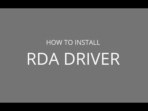 rda cpu usb driver