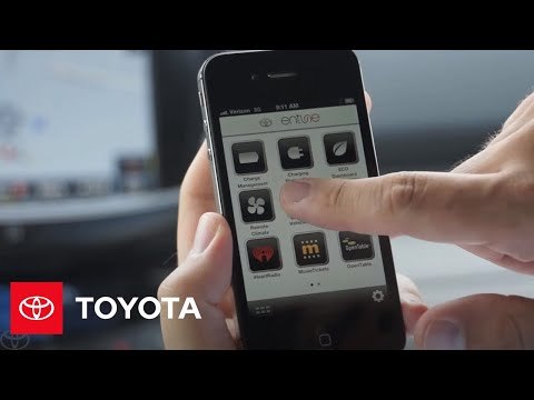 RAV4 EV Entune Apps | Toyota