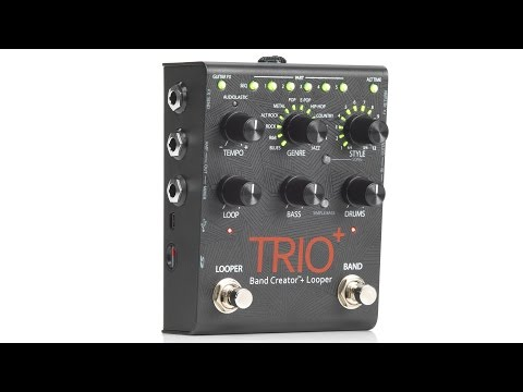 DigiTech Trio+ Band Creator with Looper Pedal Demo by Sweetwater