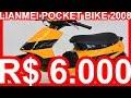 PASTORE R$ 6.000 Lianmei Pocket Bike 2008 aro 13 49 cc 2 tempos 60 kmh #Lianmei