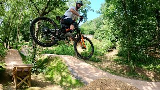 I went and checked out the NEW DARTMOOR MTB BIKEPARK!!!