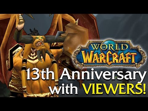 WoWs 13th Anniversary! Vanilla World Boss Event - Kazzak/Dra