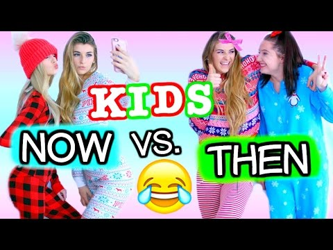 Kids Now vs. Kids Then CHRISTMAS EDITION