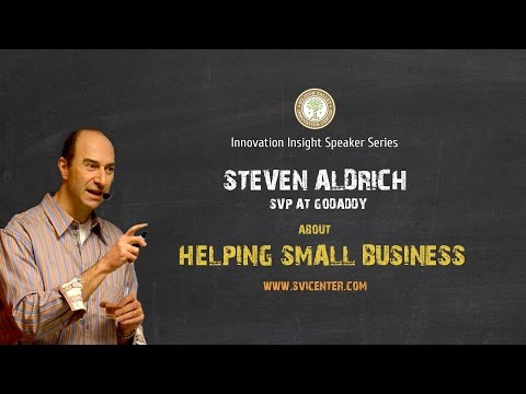 Steve Aldrich about helping small business