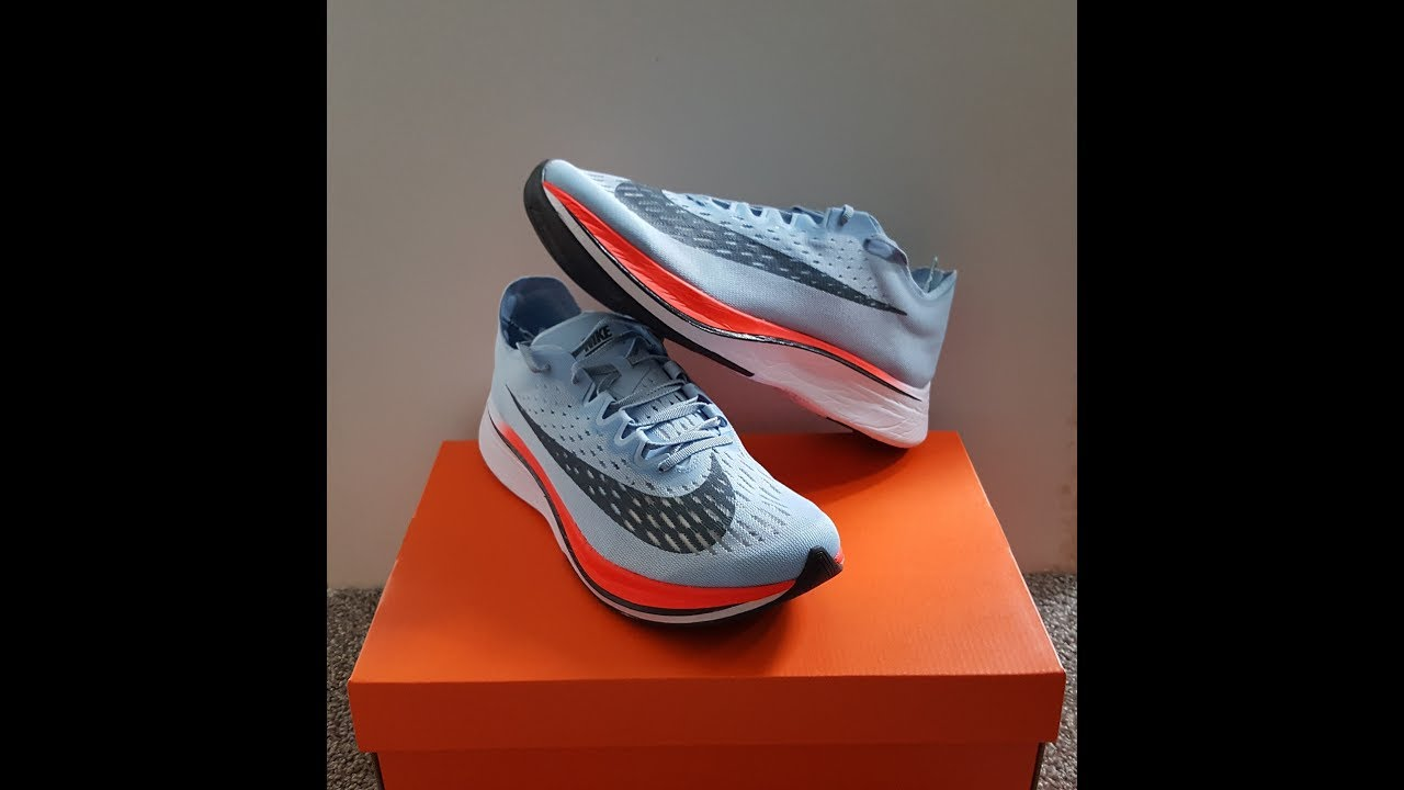 6deee69552a unboxing unpacking NIKE Zoom Vaporfly 4% code 880847 401