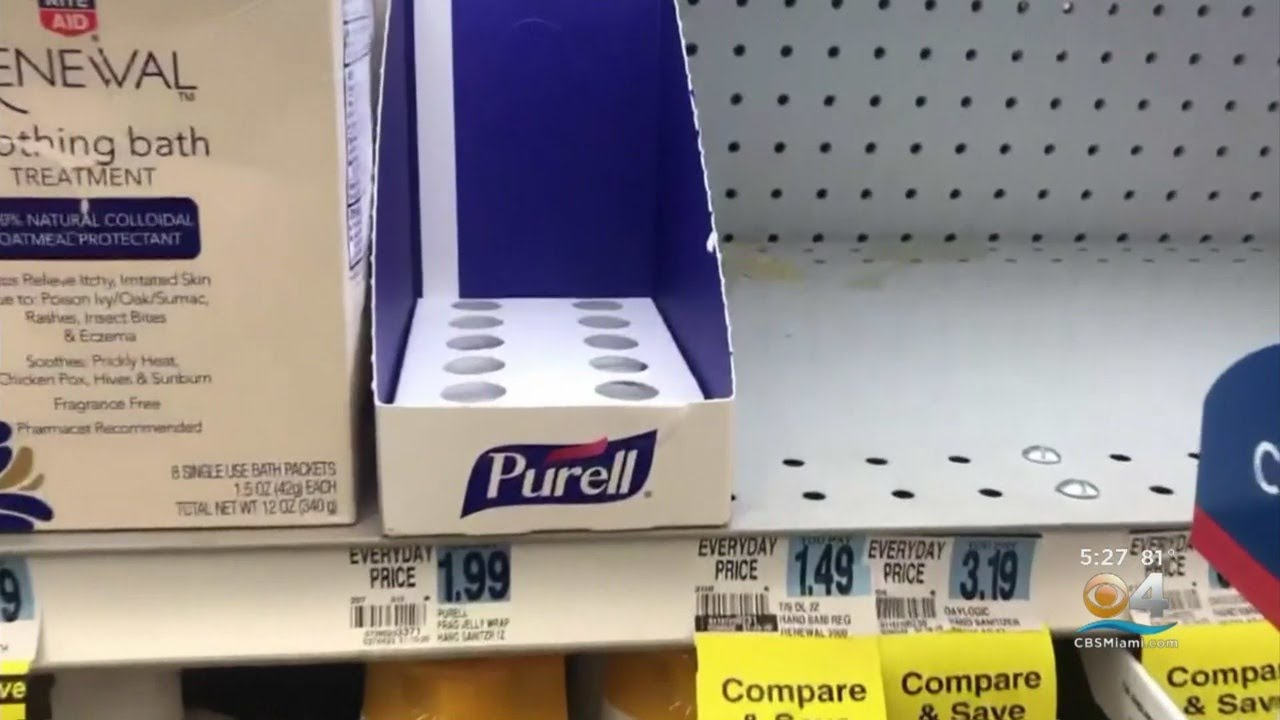 Target limiting number of hand sanitizers, disinfectant wipes per order