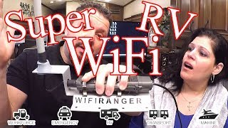 Boost Your RVs WiFi   Super Powerful Amazing User Friendly System   WiFiRanger