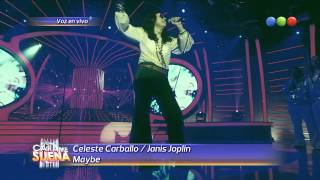 Celeste Carballo es Janis Joplin, Maybe - Tu Cara me Suena 2014