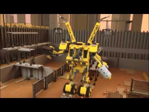 The Lego Movie | 70814 | EMMETS CONSTRUCT O-MECH | Lego 3D Review