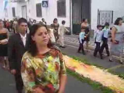 Procissão do Santíssimo Sacramento de Feteiras 01 Set 2013