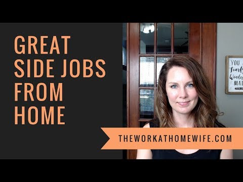 Side Jobs From Home: Make Money In Your Free Time