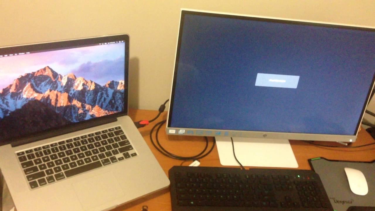 macOS Sierra External Display Problem