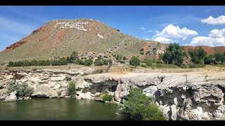 BigRigTravels Vacation Live! Hot Springs State Park Thermopolis, Wyoming-July 7, 2019