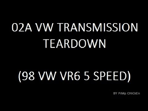 02A VW Transmission Teardown