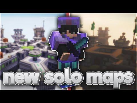 the new solo hypixel bedwars maps (orbit \u0026 siege)