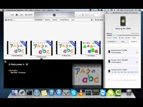 Sync/Transfer iTunes music/videos to Galaxy S6/S5/S4/S3/Note 3/Note 4/Note 2