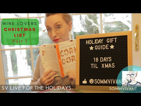 Wine Lovers Christmas List Part 1! Books They'll Actually Want,  PLUS Does The REPOUR Actually Work?